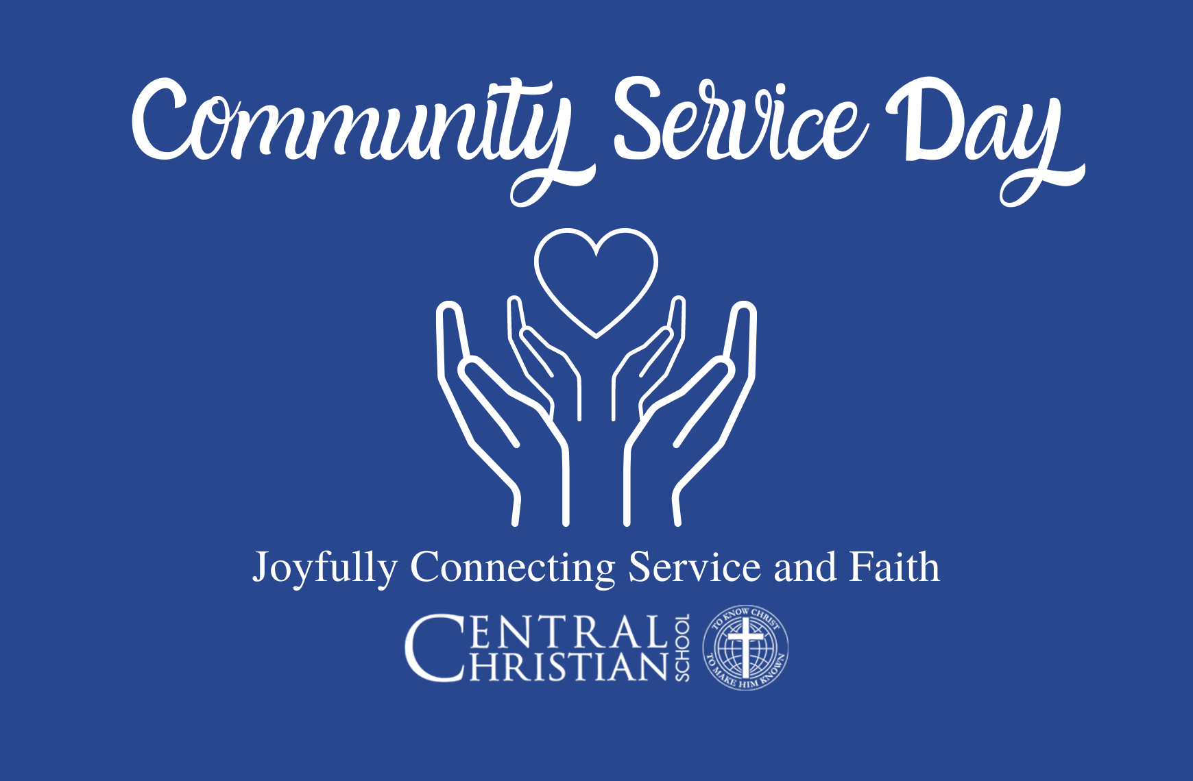 Community Service Day at Central Christian School